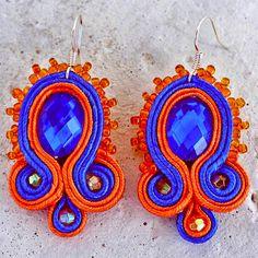 Mumbai, Jewelery, Crochet Earrings, Drop Earrings, Design, Handmade, Jewlery, Jewels, Hand Made
