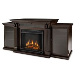 Found it at Wayfair - Calie Entertainment Center with Electric Fireplace