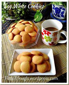 Egg White Crispy Biscuit (蛋白脆饼) | GUAI SHU SHU