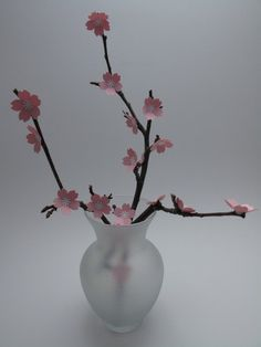 How to Make a Branch of Paper Cherry Blossoms