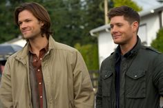 BuddyTV Slideshow   TV's 25 Sexiest Brothers of course the Winchesters are No 1 and hey, smiling Winchesters
