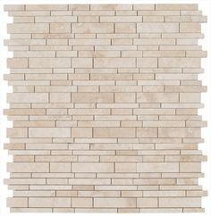 BuildDirect – Travertine Mosaic - Empire Series – Classic Beige - Multi View 4.49 per sheet
