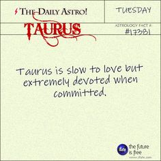 Taurus 17381: Visit The Daily Astro for more facts about Taurus. You have to see all the really cool taurus-focused infotainment over on iFate.com's astrology pages.