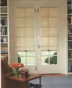 Another shade option (different sizes available) for window and for kitchen slider
