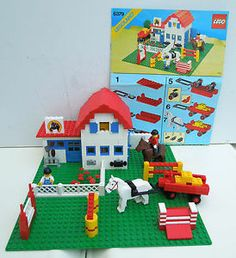Lego horses and stables, first released in 1986 http://www.ebay.ca/usr/collectiblesbycandb