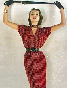 Fifties Fashion, Retro Fashion, Vintage Fashion, Look Fashion, Girl Fashion, Fashion Outfits, Fashion Design, Womens Fashion, Mode Vintage