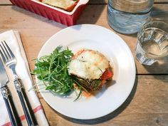 Courgette-lasagne+met+gehakt,+tomaat+en+champignons