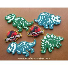 Jurassic World Cookies