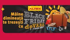 Incepand de maine, 1 iunie (Ziua Copilului), incepe Black Friday de Vara la Altex.