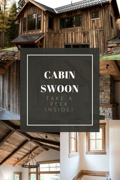 Lovely Mountain Cabin Inspo . Reclaimed Cabin Inspo. Small House Swoon . Reclaimed  Wood