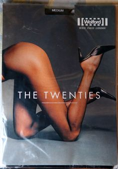 24ccce18863 NEW WOLFORD The Twenties FISHNET Tights Size  Medium Color  Black Style   11889