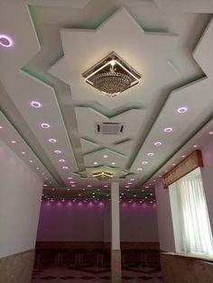 Simple Ceiling Design, Gypsum Ceiling Design, House Ceiling Design, Ceiling Design Living Room, Bedroom False Ceiling Design, False Ceiling Living Room, Cove Lighting Ceiling, Ceiling Decor, Bungalow House Design