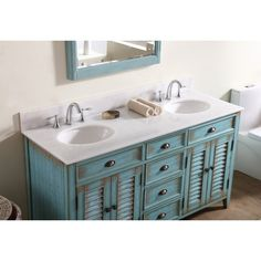 "Telly 60"" Double Bathroom Vanity Set"