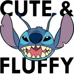 Stitch // Disney // Cute & Fluffy