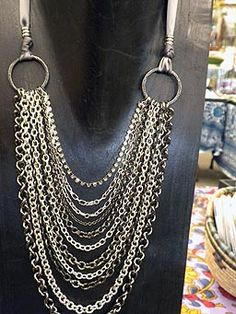 Make Your Own Designer Jewelry: Multi-Chain Necklace