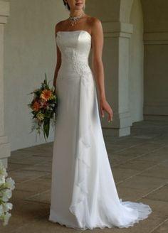 Luxus Abendkleid Brautkleid, Ballkleid, Weiße Neu stock