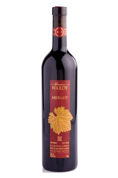Merlot - This expressive red wine evokes aromas of ripe plum and black cherry. Merlot's full palate reveals a fine balance of smooth tannins and a distinct touch of softness and roundness from being moderately matured in new French oak.    Try with beef, pasta and cheese. Best served at room temperature.  @domainewardy www.domainewardy.com