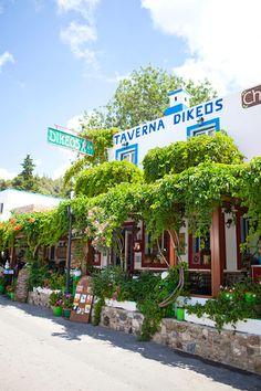 Zia in Kos, Greece #travel