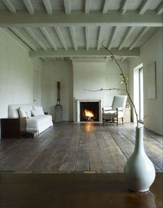 Axel Veervoodt fireplace | Remodelista/