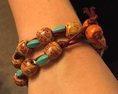 Wrapped Boho Bracelet and/or anklet