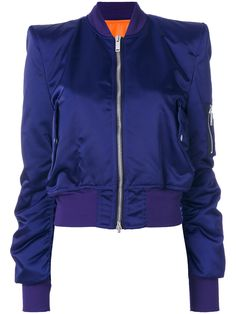 Unravel Project structured shoulders bomber jacket