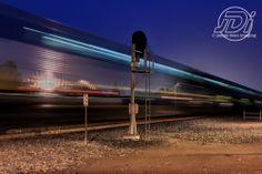 Amtrak through Elk Grove - 2012