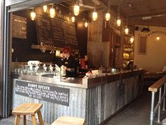 Rustic Coffee Shop Design A rustic chocolate cafe !