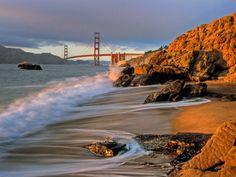 Baker Beach, San Francisco. 5 more days!!!