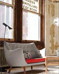 1941_ 'Poeten' sofa de Finn Juhl | MDBA