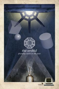 Dharma Initiative Stations - LOST Posters