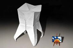 Origami Tooth by Mar Kirschenbaum Origami Tooth Designer: Mar Kirschenbaum Folder and Photo: @Origamikids Complexity: Intermediate. Time to fold 30 min. Folded from a one Square Printer White paper How to fold: Video Tutorial by Leyla Torres Originally posted 2015-03-26 01:27:15. Related Post Origami Ninja Continue reading The post Origami Tooth by Mar Kirschenbaum appeared first on Origami Blog.