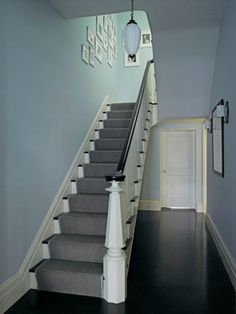 narrower staircase - similar size to ours
