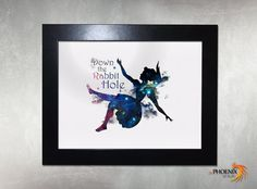 Down the #rabbit hole! #inPhoenixArt on #Etsy #Home & #Living #Décor #Picture #Frames & #Displays #modern #art #design #unique #handmade #gift #birthday #anniversary  #decoration #wooden #fairytale #story  #fantasy #unicorn #alice #wonderland #follow #white #mad #here #tea #party #queen #hearts
