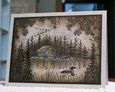 LSC259~Abes Cabin by darleenstamps - Cards and Paper Crafts at Splitcoaststampers
