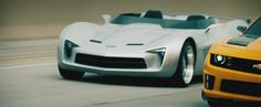 """Corvette Stingray Speedster Concept  from """"Transformers Dark Of The Moon""""."""