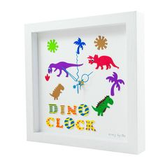 Handmade Unique Clocks direct from Cork, Ireland. Bespoke fun clocks handmade to order, great for gifts and occasions. Handmade Clocks, Unique Clocks, Personalized Clocks, Clock For Kids, Childrens Gifts, Playroom, Frame, Fun, Crafts