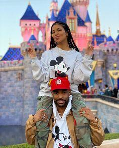 Cute Black Couples, Black Couples Goals, Cute Couples Goals, Couple Goals Relationships, Relationship Goals Pictures, Rihanna, Big Sean And Jhene, Disneyland, Bae Goals