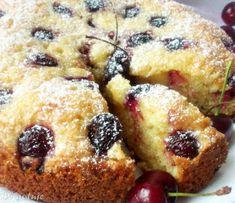 Di gotuje: Ciasto kubeczkowe z czereśniami (Ciasto jogurtowe ...