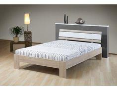 Futon Bilbao I Levná futonová postel včetně dřevěného laťového roštu z kvalitní německé výroby. Futon je opatřen pružinovou matrací. Rám postele z je vyroben z foliované dřevotřísky v dekoru dub sonoma, čelo vkusně doplňuje kombinace … Bilbao, Betta, Mattress, Modern, Classic, Design, Furniture, Home Decor, Bedroom Bed
