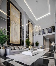 Majestic Luxury modern style living room decor with luxury sofa. luxury comfy sofa, restoration hardware inspired sofas Majestic Luxury modern style living room decor with luxury sofa. Luxury Home Decor, Luxury Interior Design, Luxury Homes, Living Room Modern, Living Room Interior, Living Room Designs, Living Rooms, Bedroom Designs, Luxury Sofa