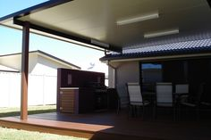 View a range of great patio design ideas with our gallery of flat, gable, pitched and fly-over patio builds installed Australia wide.