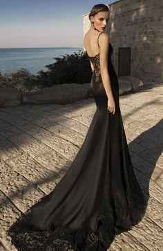 Elegant black wedding dress                                                                                                                                                                                 More