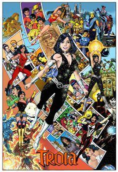 Wonder Girl, Troia, Darkstar and Donna Troy!