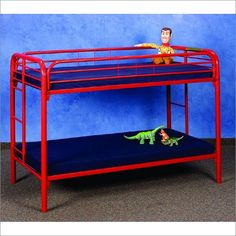 Donco Twin Over Twin Metal Bunk Bed - - - Air Beds, Sheets, Mattresses, and Bedding Accessories Bunk Bed Sets, Queen Bunk Beds, Futon Bunk Bed, Loft Bunk Beds, Metal Bunk Beds, Full Bunk Beds, Kids Bunk Beds, Loft Bed Frame, Bed Photos