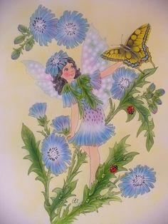 Christl Vogl flower fairy #1