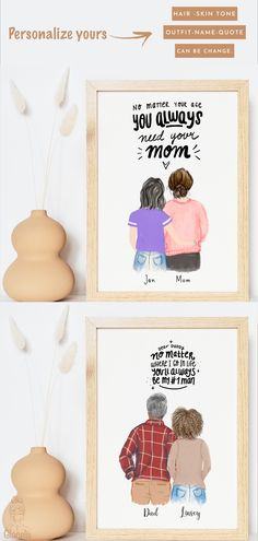 """They did so much for you growing up, and a lot of them still do everything they can to help you out and make your life as wonderful as your childhood was.  Every doctor, every teacher, every author, every world-changer- we have because of the people who loved and supported them. This print feels like so much more than just a gift.  Here are 5 gift ideas for your parents to tell them, """"thank you"""", for the life and love they gave you. Teacher Appreciation Gifts, Teacher Gifts, Volunteer Appreciation, Presents For Mom, Christmas Presents, Christmas Ideas, Christmas Crafts, Gifts For Father, Mother Day Gifts"""