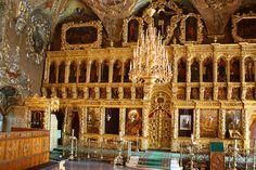 russian orthodox church | Inside The Old Russian Orthodox Church Photograph