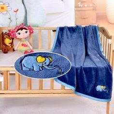 Infant Crib Baby Fleece Blankets Newborn Boy/Girl Multi-Purpose Quilt Comforter #MMY