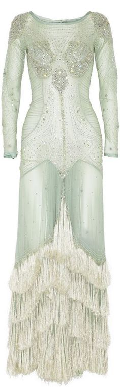 Temperley London Mint Gown, Net Fashion, Fashion 2014, High Fashion, Temperley, Beautiful Gowns, Bridal Gowns, Prom Gowns, Evening Dresses
