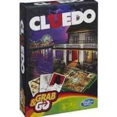 Who can solve the murder mystery first? With this Cluedo - Grab and Go game from Hasbro the whole family will be trying to figure it out. Go Game, Travel Toys, Game Guide, 12 Year Old, Retro, Cool Toys, Detective, Kids Toys, Ireland